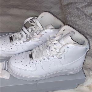 Nike Air Force 1 High 07 Sneakers White 8.5